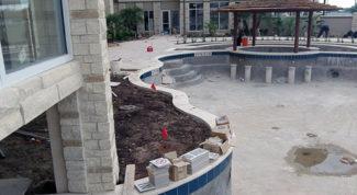 Swimming Pool Deck Process