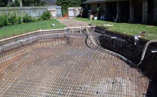 Swimming Pool Steel Process